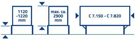 BFX Classic attelage haut avec hayon