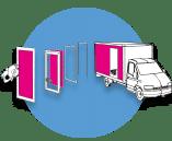 accessoires de carrosserie - Portes latérales