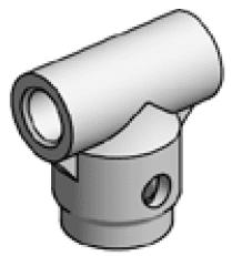 Accessoires de supports de roue - Douille d'axe