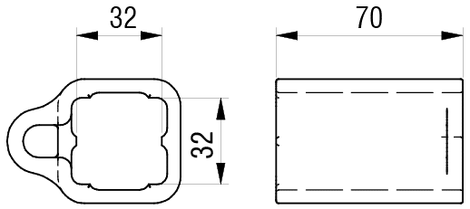 Schéma accessoires de supports de roue - Guide pour levier