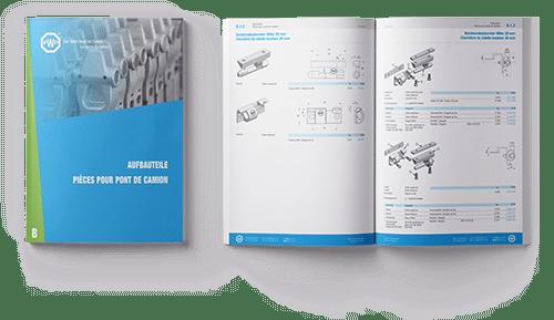 Catalogue PWP - Pièces pour ponts de camion