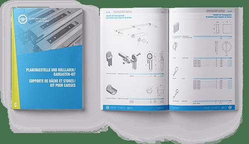 Catalogue PWP - Support de bâches et stores / Kit pour caisses
