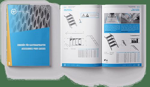 Catalogue PWP - Accessoires pour caisses