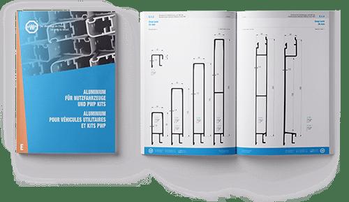 Catalogue PWP - Aluminium pour véhicules utilitaires et kits